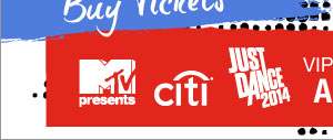 MTV / Citi / Just Dance 2014