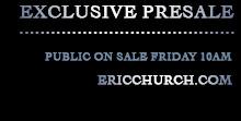 Public On Sale Friday 10am