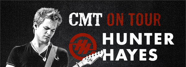 CMT On Tour Hunter Hayes