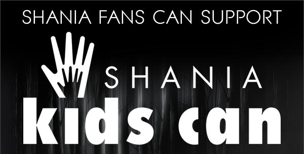 Shania fans can support Shania kids can