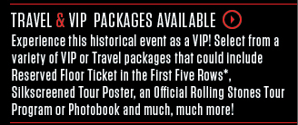 VIP & Travel Packages Available