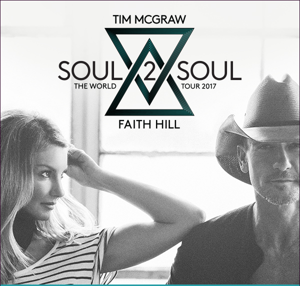 Tim McGraw & Faith Hill / Soul 2 Soul The World Tour 2017