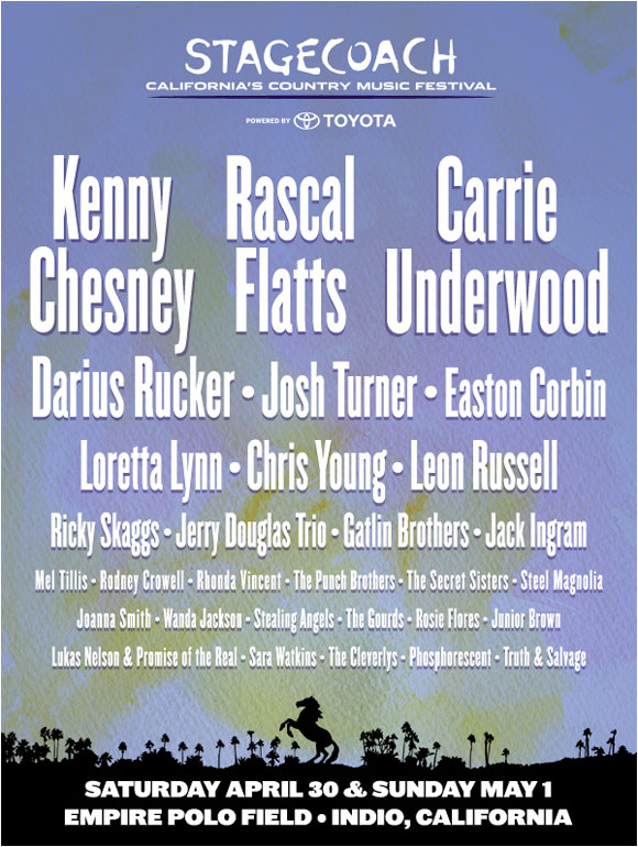Stagecoach Festival 2011 On Sale