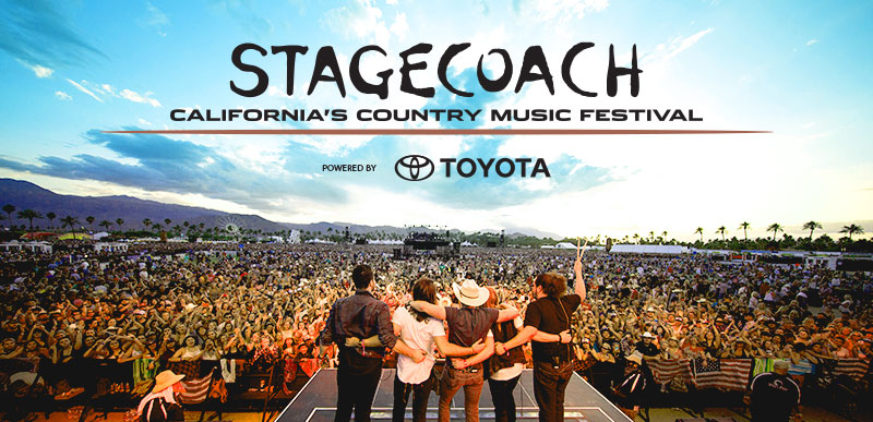 STAGECOACH CALIFORNIA'S COUNTRY MUSIC FESTIVAL POWERED BY TOYOTA